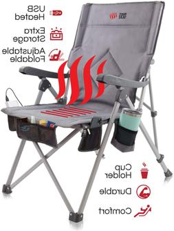 POP Design, The Hot Seat Heated Portable Chair Perfect for C