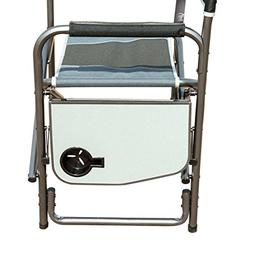 Timber Ridge Directors Chair Folding Portable Camping with S