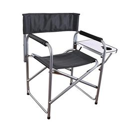 Outdoor Stansport Directors Chair With Side Table