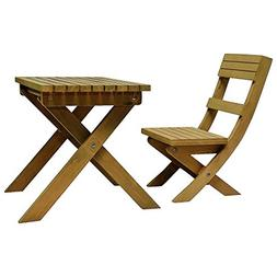 "18"" Doll Gombe Rainforest Camp Table & Chair Set Fits Americ"