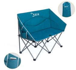 Double Camping Chair, Loveseat, Oversized Folding Camp Seat