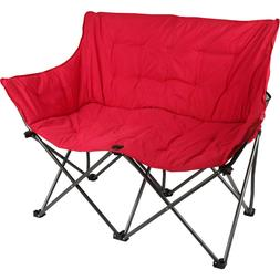 Double Folding Chair Camping Camp Portable Beach Chairs Outd