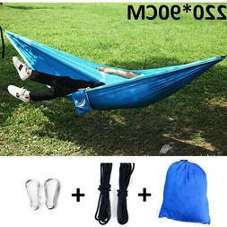 Double Hammock Tent Outdoor Camping Hanging Bed Swing Chair