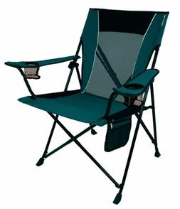 Dual Lock Portable Camping and Sports Chair Supports up to 3
