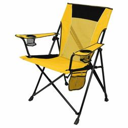 Dual Lock Portable Camping and Sports Chair 2 cup holders Su