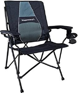Strongback Elite Folding Camp Chair with Ergonomic Lumbar Su