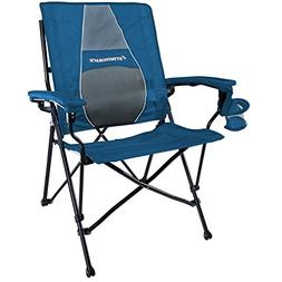 STRONGBACK Elite Heavy Duty Folding Camp Chair with Lumbar S