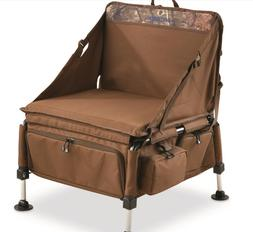 Elite Sportsman's Chair Ground Blind Camping Deer Hunting Ou