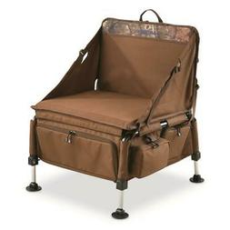 Elite Sportsmans Chair Ground Blind Camping Deer Hunting Out