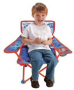 Fold N' Go Kids Camping Chair with Cup Holder Play Outdoor P