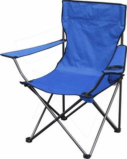 Folding Camp Chair Outdoor Portable Seat  Camping Cup
