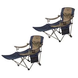 Kamp-Rite Outdoor Folding Camping Chair with Detachable Foot