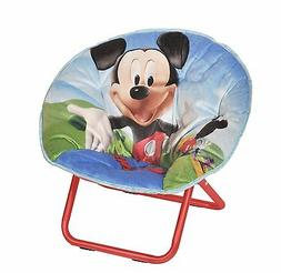 Folding Camping Chair Mickey Mouse Toddler Seat Moon Kids Bo
