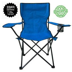 Folding Camping Chair Picnic Beach Outdoor Portable Tail Gat