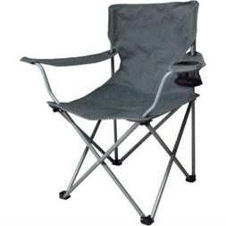 Ozark Trail Folding Chair  Cup Holder Steel Frame  Polyester