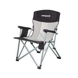 KingCamp Camping Chair Mesh High Back Ergonomic with Cup Hol