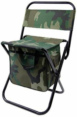 Folding Chair Portable Camping Fishing Outdoor Garden Seat C