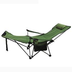 WAOBE Outdoor Folding Chair Recliner Portable Backrest Chair