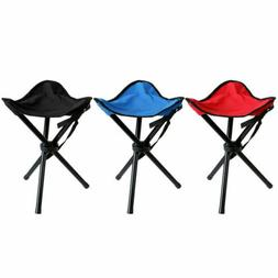 Folding Chair Tripod Camping Fishing Stool Portable Lightwei