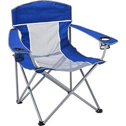 Ozark Trail XXL Folding Comfort Mesh Chair With Bag