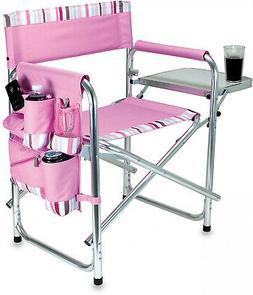 Picnic Time Folding Directors Chair Sports Seat Portable Out
