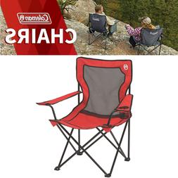 Folding Heavy Duty Camping Chair Coleman Lightweight Outdoor