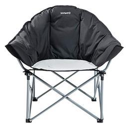 KingCamp Folding Oversized Padded Moon Saucer Chair Camping
