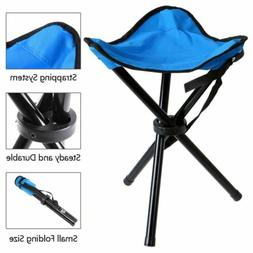 folding stool portable tripod seat triangle chair