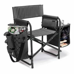 Picnic Time Fusion Backpack Chair with Cooler Camping Chair