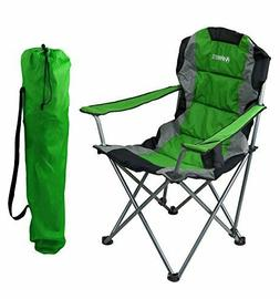 green folding camping chair ultra lightweight collapsible