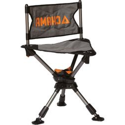 Chama Ground Blind Ice Fishing Silent Swivel 3 Legged Chair