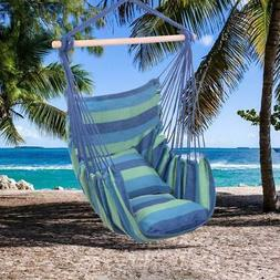 Hammock Hanging Rope Chair Porch Swing Seat Patio Camping Po