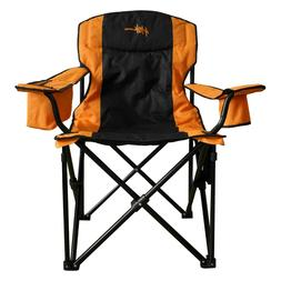 Heated Outdoor Folding Chair & Portable Power Pack for Campi