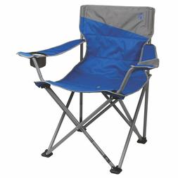 Heavy Duty Big and Tall Beach Camping Quad Chair With Cup Ho