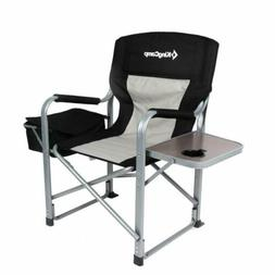 KingCamp Heavy Duty Camping Folding Director Chair with Cool