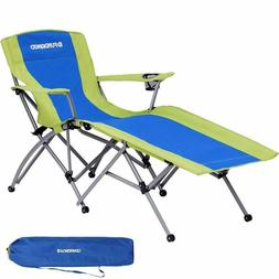 Heavy Duty Compact Portable Outdoor Folding Reclining Campin