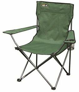 Heavy Duty Folding Camp Chair Outdoor Portable Seat 225 LBS