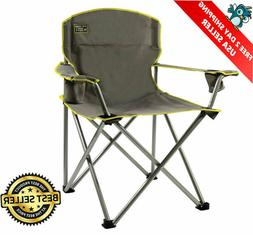 heavy duty folding camp chair outdoor portable