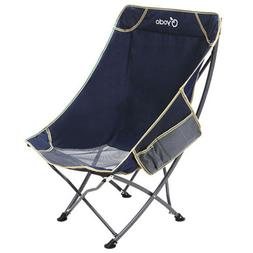 Heavy Duty Outdoor High Back Folding Camping Chair Fishing T