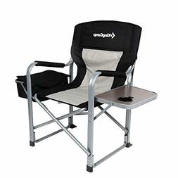 Kingcamp Heavy Duty Steel Camping Folding Director Chair Coo
