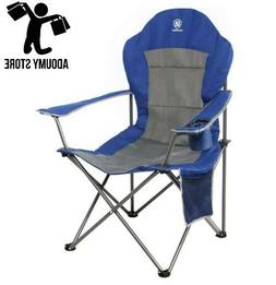 High Quality ADVANCED Oversized Padded Quad Arm Chair Collap