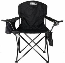HOT!!! Coleman Portable Camping Quad Chair with 4-Can Cooler