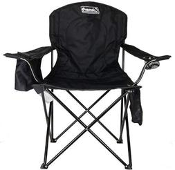 HOT!~Coleman Portable Camping Quad Chair with 4-Can Cooler B