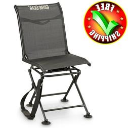Hunting Blind Chair Swivel 360 Degree Folding Travel Seat St