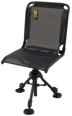 Hunting Ground Blind Chair Swiveling Adjustable Height Porta