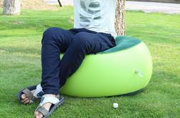 Inflatable Couch Bean Bag Air Cube Camping Outdoor Inflatabl