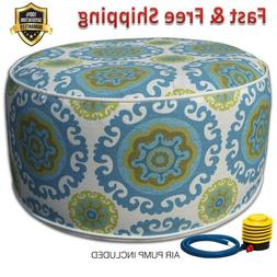 Inflatable Stool Ottoman for Indoor Outdoor Kids Adults Camp