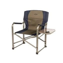 Kamp Rite Directors Foldable Portable Boat Chair with side t