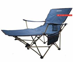 KHORE Automaticly Adjustable Recliner Folding Camping Chair