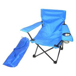 Kids Folding Camp Chair in Blue